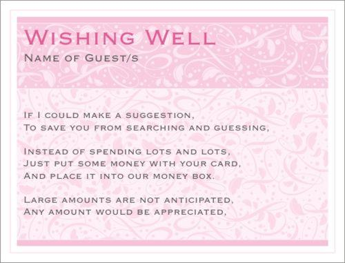Baby Shower Wording For Wishing Well Diabetesmangfo