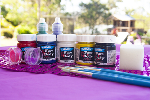 DIY Face Painting Materials